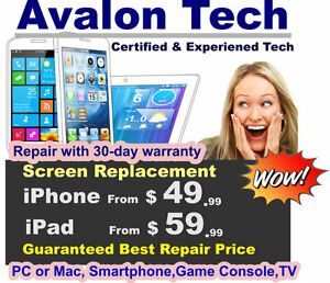 We Fix PC, MAC,iPhone iPad,Tablet,Smartphones,Game Console,TV