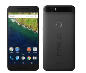 MINT NEXUS 6P UNLOCKED 32GB BLACK - 3 MONTHS OF WARRANTY