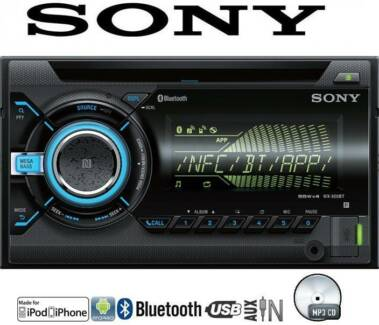 SONY DOUBLE DIN CD BLUETOOTH USB AUX MP3 PLAYER BRAND NEW!