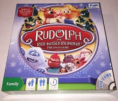 Rudolph The Red Nosed Reindeer Game by Screenlife - 2010 Ed  - 100% - Reindeer Game