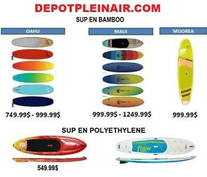 Stand up Paddle board,SUP,Planche surf à Pagaie,kayaks  399$
