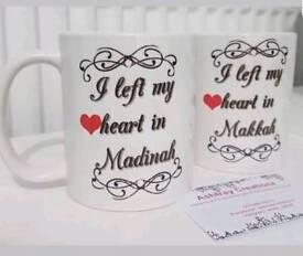 Personalised mugs printing