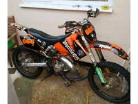 Ktm 125 sx motocross