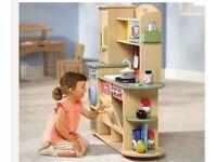 Little Tikes Tykes cookin creations wooden premium play toy kitchen BRAND NEW