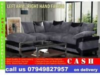 NEW OFFER 65% OFF 3 AND 2 SEATER DINO CORNER FABRIC SUITE SOFA IN DIFFERENT COLOR