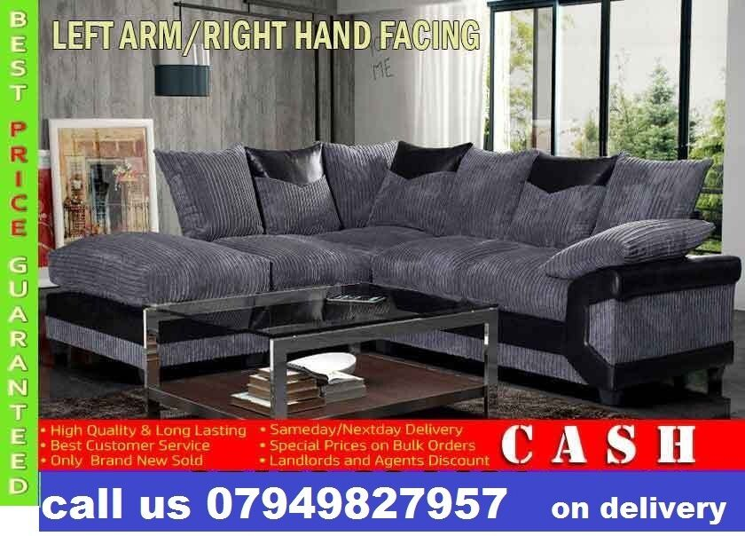 CHRISTMAS DISCOUNTS3 2 Seater Sofa Also Corner Suites Availablein Haringey, LondonGumtree - STYLISH DEENO SUITES AVAILABLE IN DOUBLE TONE COLOR BLACK GREY OR BROWN BEIGE RECOMMENDED RETAIL PRICE ?599 OUR PIRCE ?319 FOR 3 2 OR CORNER SUITE DIMENSIONS Corner to armrest 250cm Corner to chaise 220cm Height from floor to scatter cushions 90cm...