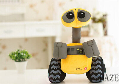 10 inch Thinkway WALL-E Plush Toy Doll Top New kid's gift HOT TOYS
