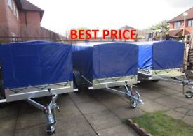 Car camping box trailer Mobility scooter trailer 750kg
