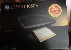 HP Deskjet printer scanner and copy machine almost new