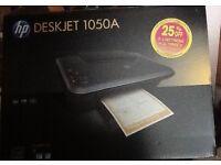 HP Deskjet printer scanner and copy machine almost new