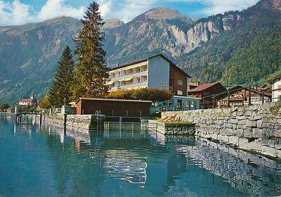alte AK Hotel Bären, Brienz BO, Schweiz ungelaufen Ansichtskarte B033b