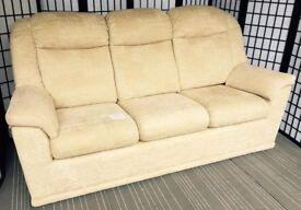 G Plan Milton 3-seater sofa in Checkers Cream RRP £1674