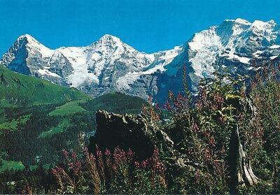 alte AK Berner Oberland, Schweiz ungelaufen Ansichtskarte B033h