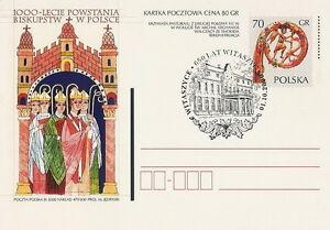 Poland postmark WITASZYCE - 650 years civic rights - Bystra Slaska, Polska - Poland postmark WITASZYCE - 650 years civic rights - Bystra Slaska, Polska