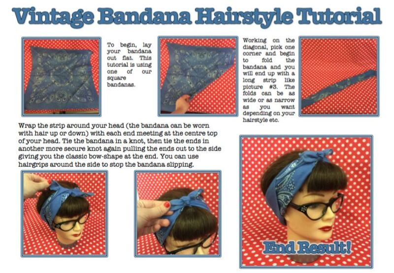 Hi there, thanks for taking a look at our pin-up bandana guide!