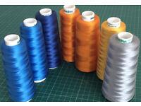 Maderia machine embroidery thread