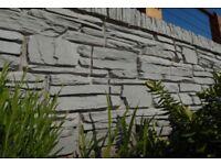 Slate Grey Effect Dry Stone Walling Blocks Bricks