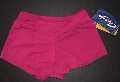 NWT Capezio MC600 Mulberry Booty Boy Shorts Ladies Sizes Dance Cheerleading (Cheerleader Booty Shorts)