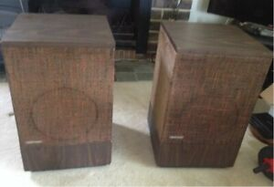 'BOSE' original vintage speakers
