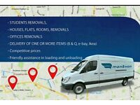 Short Notice Man & Van Hire Cheap Reliable 24/7 Birmingham £15P/H House removals delivery service