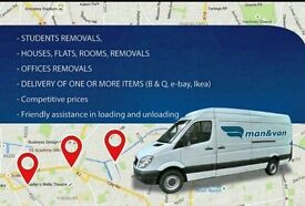 Cheap £15ph MAN AND VAN HIRE, SHORT-NOTICE REMOVALS SERVICES CALL NOW