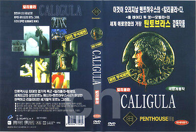 CALIGULA (1979) - Tinto Brass, Bob Guccione, Malcolm McDowell DVD NEW