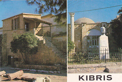 CYPRUS POSTCARD FAMAGUSTA NAMIK KEMAL OLD CITY EARLY TURKISH EDITION C 1975