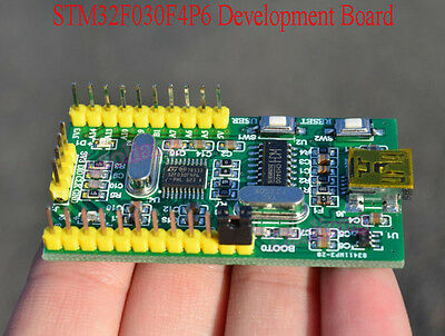 Arm M0 Stm32f030f4p6 Minimum System Development Core Learning Board For Arduino