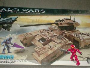 Halo Wars  Mega Bloks  UNSC Scorpion