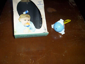 vintage Kiddicraft Baby-Blow teether whistle rattle original box