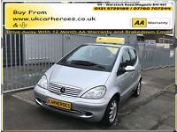 2003 MERCEDES BENZ A160 1.6 ELEGANCE FULL AUTOMATIC GEARBOX *F/HISTORY *FUL/MOT