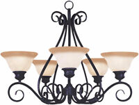 Chandelier, Decorative Light Fixtures, Electrical Outlet Install