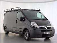 2012 Vauxhall Vivaro 2.0CDTI [115PS] Van 2.9t Euro 5 Diesel black Manual