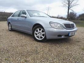 Mercedes-Benz S 320 CDI LONG WHEEL BASE 2002 MODEL EXCEPTIONALLY CLEAN CAR