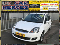2007 FORD FIESTA 1.4 TDCi ZETEC CLIMATE + 12 MONTH WARRANTY INCLUDED
