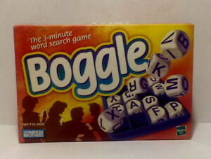 Boggle Board Game 1999 Edition by Parker Brothers