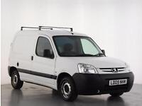 2009 Peugeot Partner 800 LX HDi 75 Van Diesel white Manual
