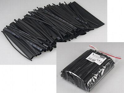 100-tlg Schrumpfschlauch Sortiment Set-Tüte Schrumpfschläuche