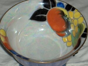 Noritake M Morimura handpainted made in Japan fluted bowl 1920's West Island Greater Montréal image 5