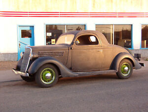 1935/36 Ford 3 Window Coupe Project London Ontario image 1
