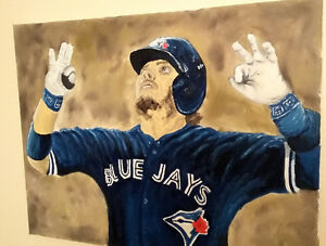 Bringer of Rain: Original Josh Donaldson oil painting