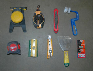 Assorted Painting Related Tools