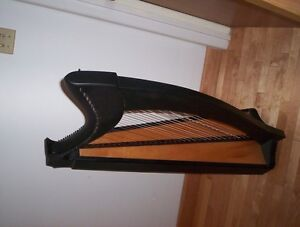 celtic floor harp