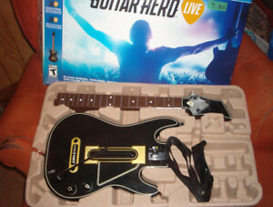 Guitar Hero Live PS4 - Guitar only- NO Game! $5.00