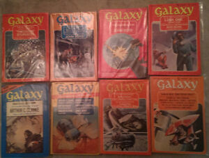 Galaxy Science Fiction: Complete Year Set 1973 8 issues