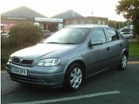 Vauxhall Astra 1.6 i Club 5dr£1999 NO FINANCE PROPOSAL REFUSED 2004 (04 reg)