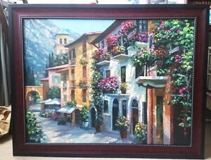 Painting by Berkens