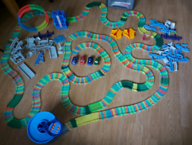 Collection of glow tracks sets