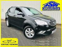 2012 Ssangyong Korando 2.0 TD AWD S - Full Leather. Sunroof. 2 Owners.