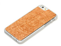 Handmade Aztec Calendar Cherry Wood iPhone 6/6s Phone Case
